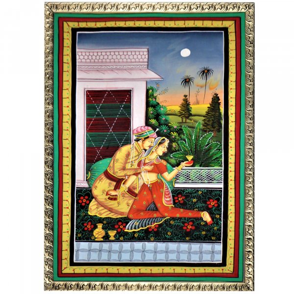 Rasikapriya – A Fable of Love RAJASTHANI PAINTING