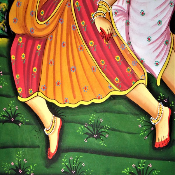Rasikapriya – A Fable of Joy RAJASTHANI PAINTING