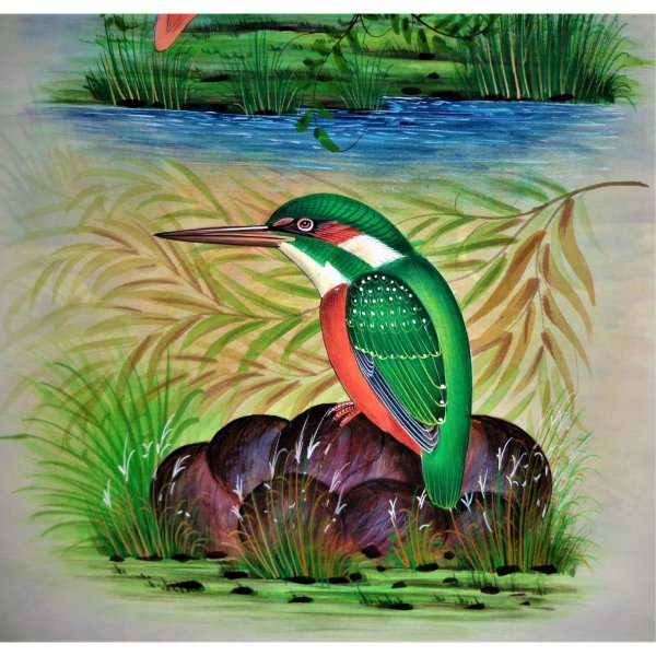 Kingfisher Bird Painting