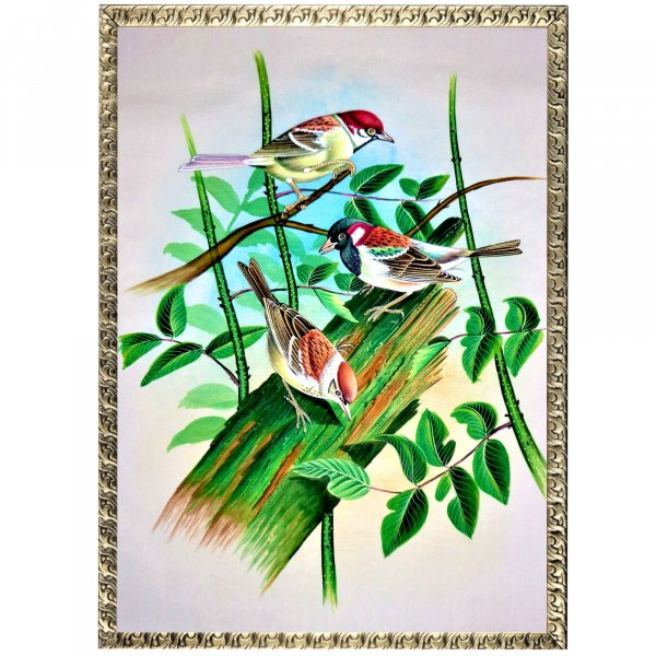 Finch Bird Painting