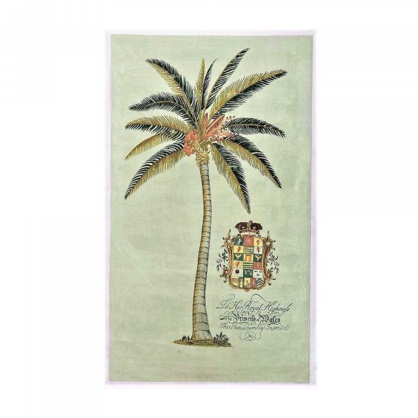 Royal Crest Palm Tree Painting