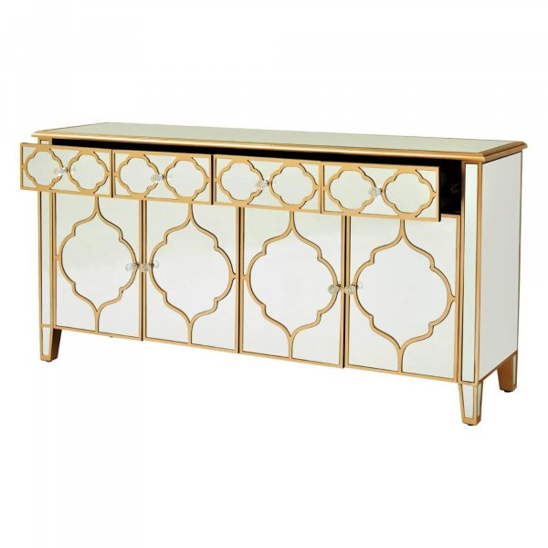 ALTMAN Mirrored Sideboard Cabinet