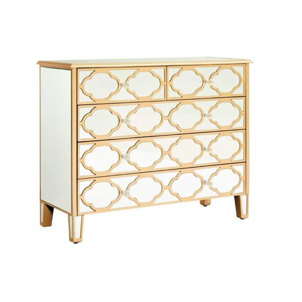 ALTMAN Mirrored Sideboard Highboy