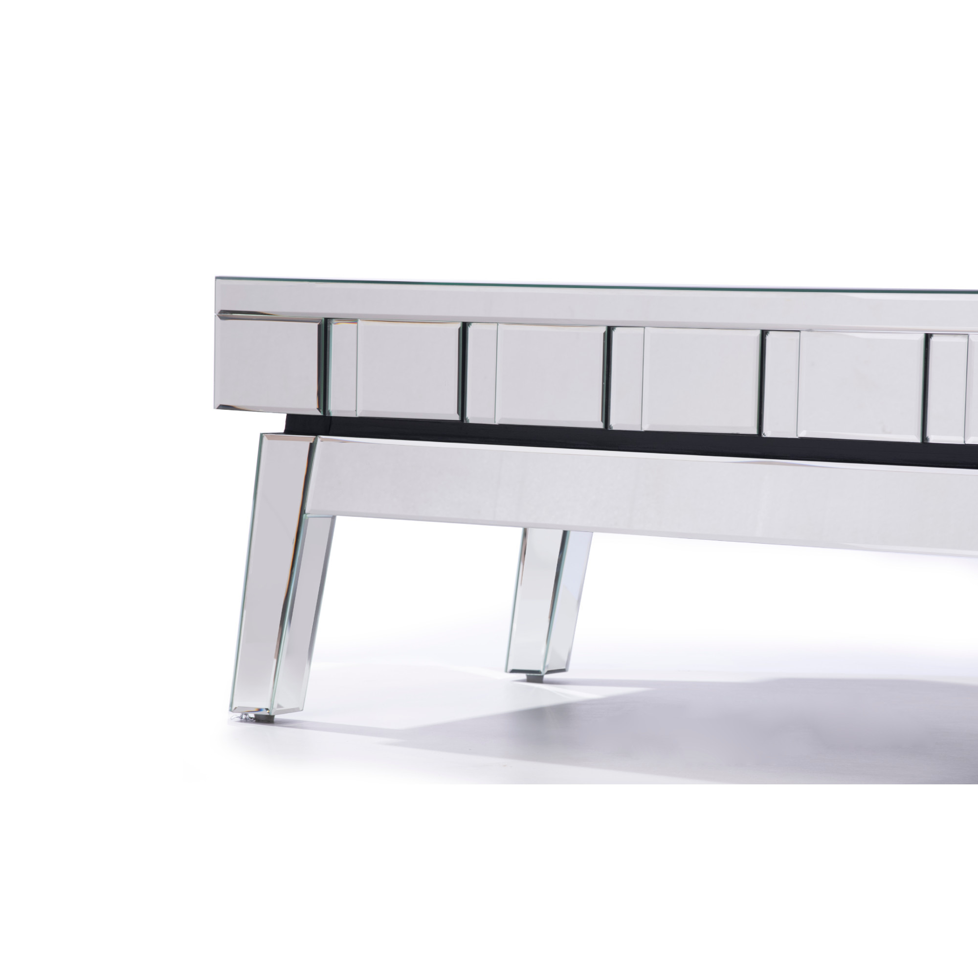 DEVINA Mirrored Coffee Table