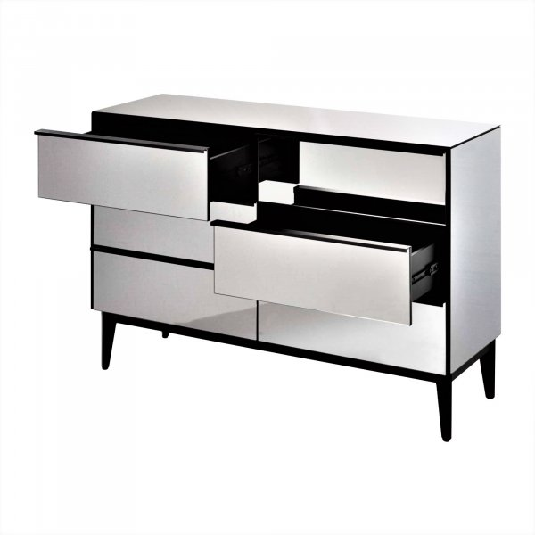 QUILL Mirrored Sideboard Highboy