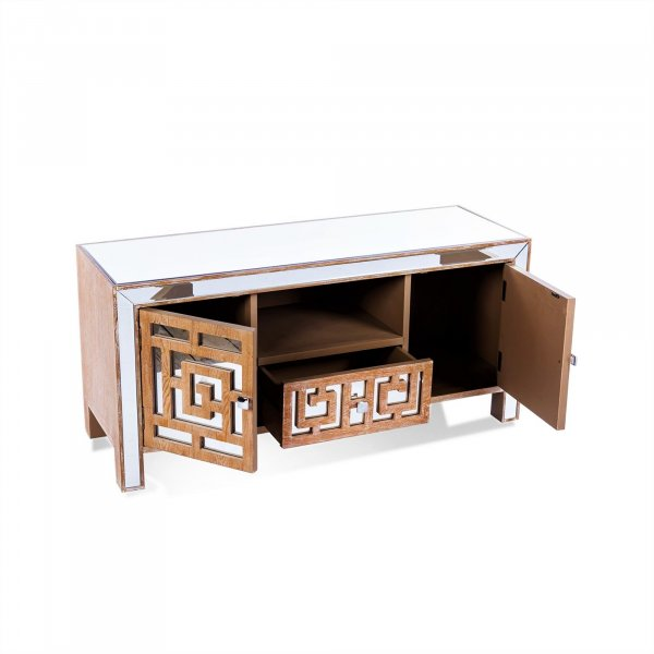 WARREN Mirrored TV-Media Unit