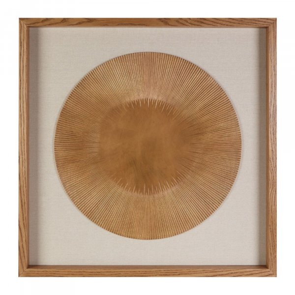 Gold Disc Wall Art - BBWLRT01