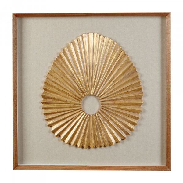 Gold Abstract Wall Art - BBWLRT04