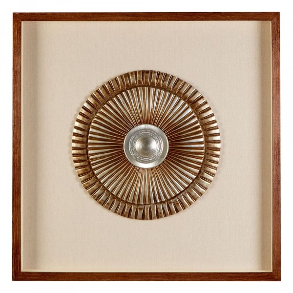 Gold Disc Wall Art - BBWLRT05