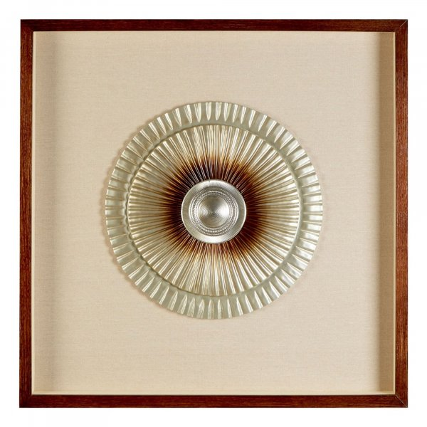 Gold Disc Wall Art - BBWLRT06
