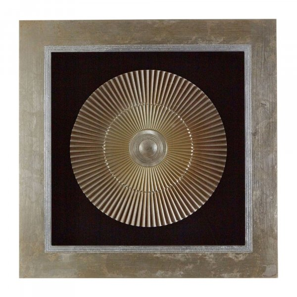 Gold Disc Wall Art - BBWLRT07
