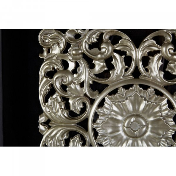 Silver Ornate Wall Art - BBWLRT12