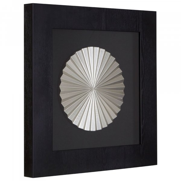 Silver Disc Wall Art - BBWLRT15
