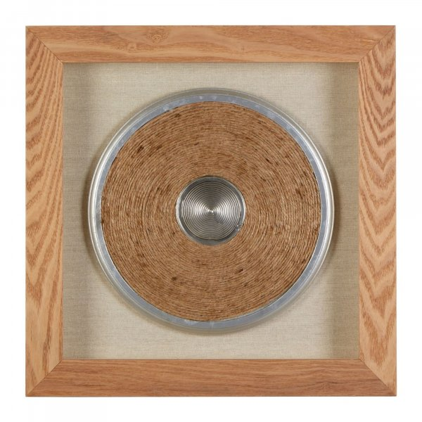 Hemp Disc Wall Art - BBWLRT24