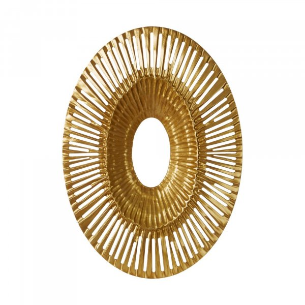 Gold Vortex Wall Art - BBWLRT30