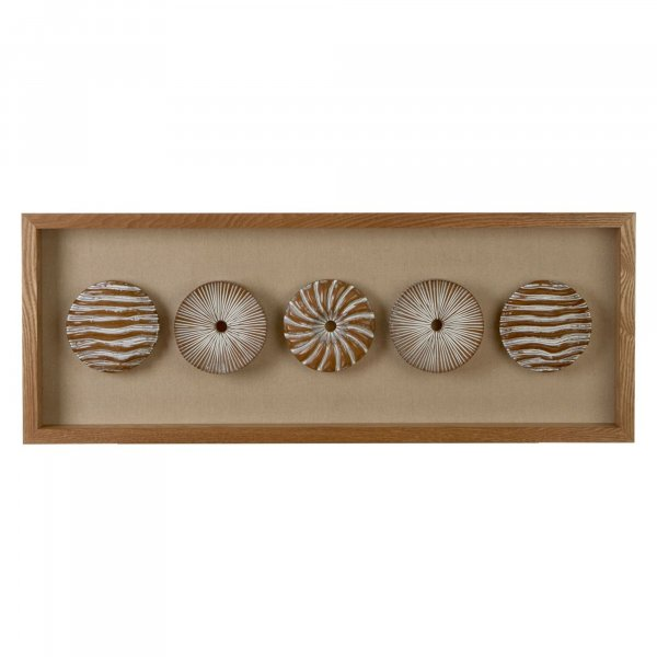 Wood Carving Donuts Wall Art - BBWLRT33