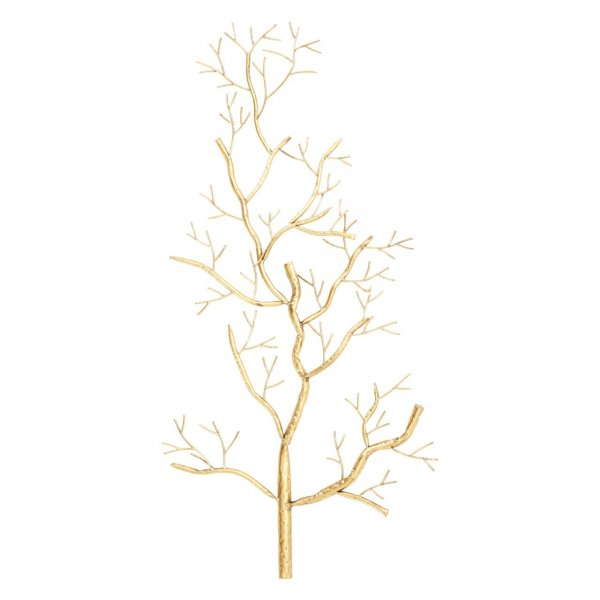 Gold Autumn Tree Wall Art - BBWLRT40