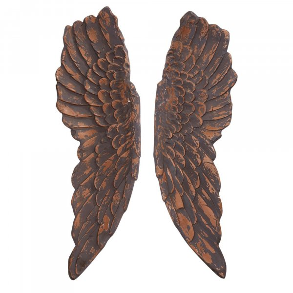 Bronze Angel Wings Wall Art - BBWLRT43