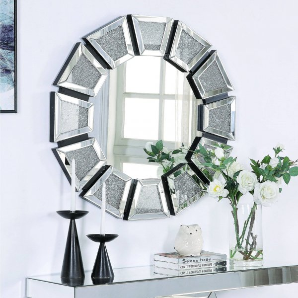 CHRYSALIS Diamond Crush Accent Mirror