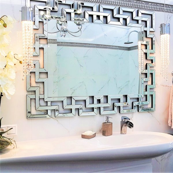 MAZE Art Deco Wall Mirror