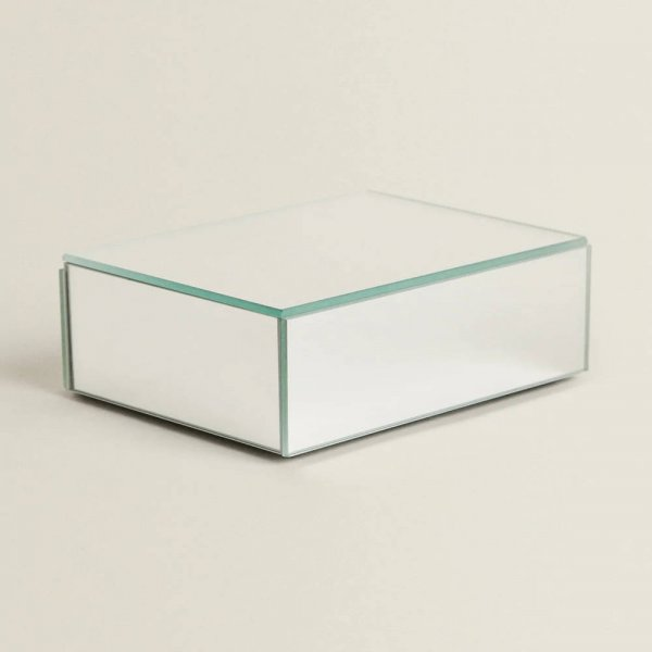 STERLING Mirrored Storage Boxes - Set of 3